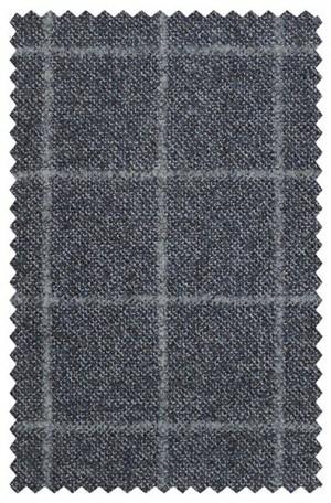 Hart Schaffner Marx Blue Windowpane Sportcoat #817-429305