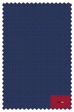 """TailoRED Blue """"Fancy Solid"""" Tailored Fit Suit #82A0079"""