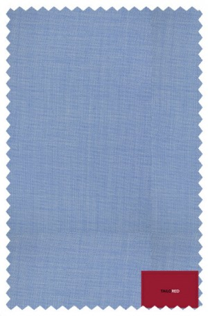 """""""Delightfully Blue"""" Wool-Silk Tailored Fit Suit from TailoRED 83C0002"""