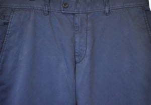 Brax Light Navy Stretch Cotton Slacks #861808-22