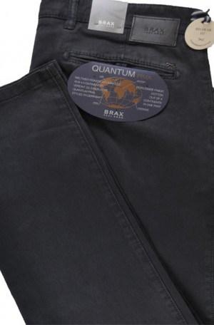 Brax Gray Pima Cotton Tailored Fit Slacks #87-1757-05