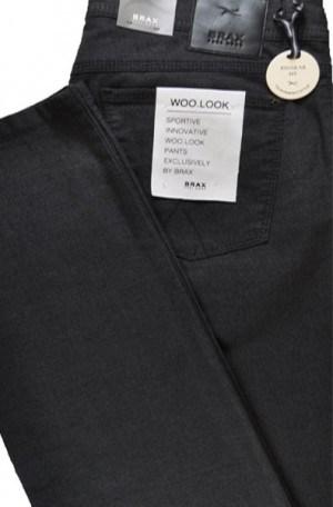 Brax Dark Gray Jeans Style Slim Fit Slacks #87-6267-05