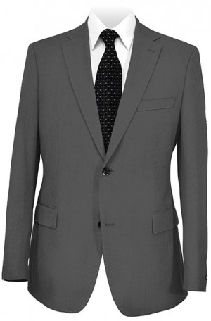 Dark Gray Tailored Fit Wedding Suit from Paul Betenly #8T00003