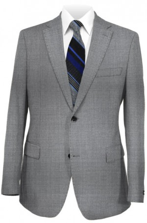 Betenly Wedding Suit Collection - Medium Gray Tailored Fit 8T0004
