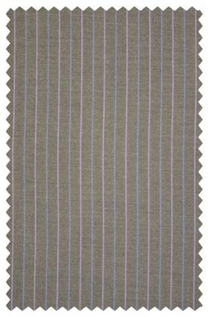 Mattarazi Taupe Stripe Suit #913421-8