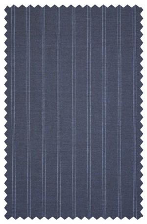 Blue 'Railroad' Stripe Suit #91632-291