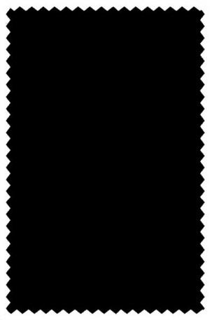 Cosani Black Solid Color Suit #973-01