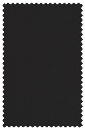 Crown Black Solid Color Suit #9800T