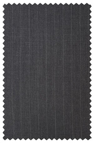 Crown Gray Stripe Suit #9808