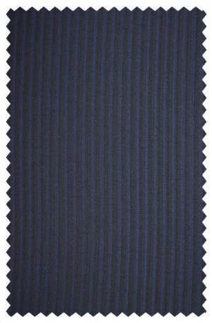 Rubin Navy Stripe Tailored Fit Suit #A00276