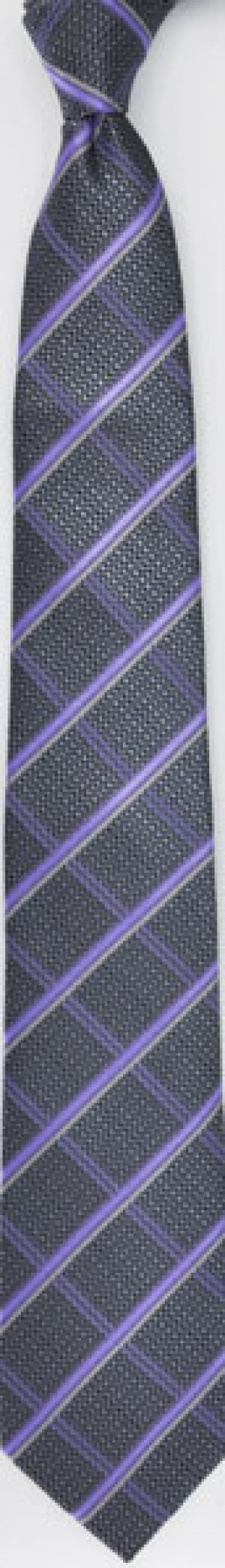 TIE - Purple Pattern