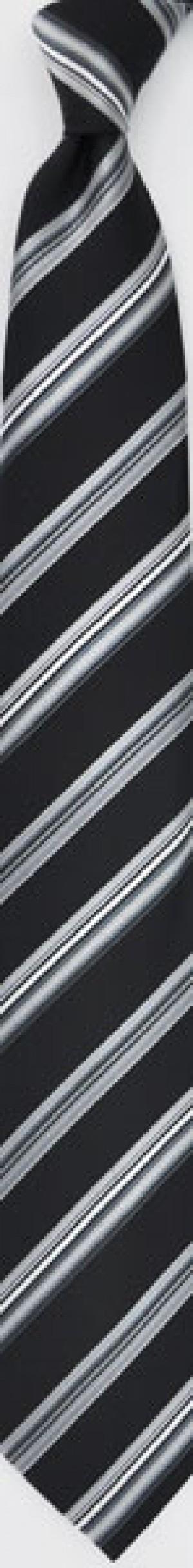 TIE - Black Stripe
