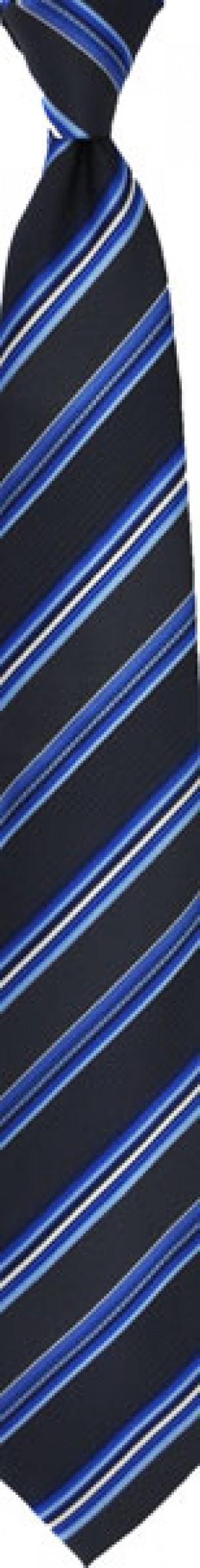TIE - Navy Stripe