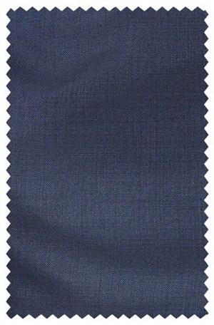 HILFIGER Medium Blue Solid Color SLACKS AS130
