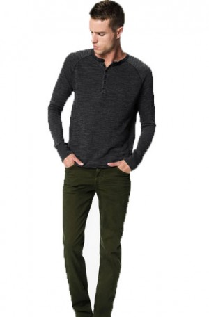 Joe's Olive Brixton Kinetic Jeans #AWLST68225-OVD