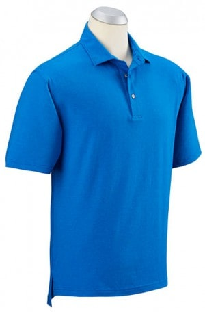 Bobby Jones Royal Blue Stripe Cotton Stretch Polo #BJ230005-401