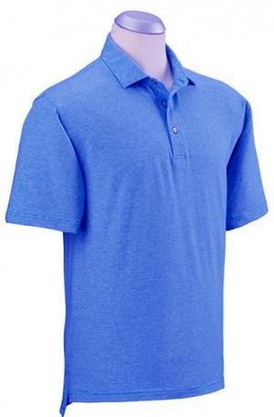 Bobby Jones Cobalt Blue Fine Stripe Cotton Stretch Polo #BJ230005-415