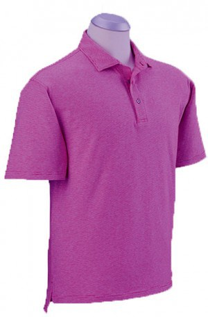 Bobby Jones Lavender Fine Stripe Cotton Stretch Polo #BJ230005-530