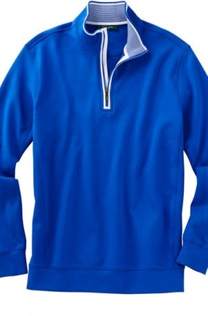 Bobby Jones Royal Blue 1/4-Zip Cotton Pullover BJL48402-401