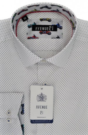 """""""The Knit"""" Tailored Fit Sport Shirt from Avenue21 #BS62"""