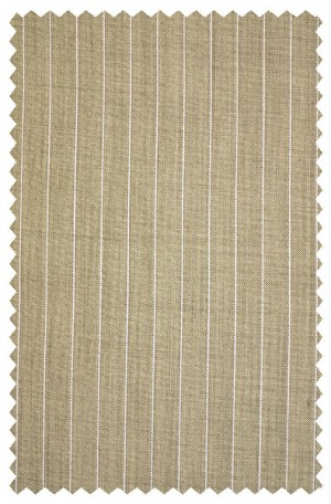 Tiglio Light Brown Stripe Tailored Fit Suit E09074-4