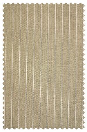 Tiglio Light Brown Stripe Tailored Fit Suit #E09074-4