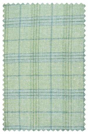 Hickey Freeman Green Pattern Sportcoat #F51-512061