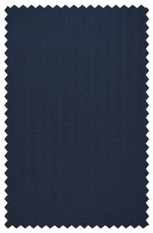 Hickey Freeman Navy Herringbone Suit F61-312025