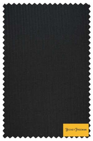 Hickey Freeman Black Mini-Stripe Suit #F61-312039