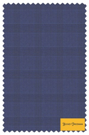 Hickey Freeman Light Navy Pattern Suit #F61-312100