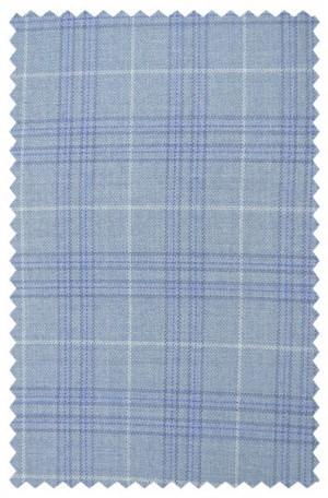 Hickey Freeman Light Blue Pattern Sportcoat #F61-512025