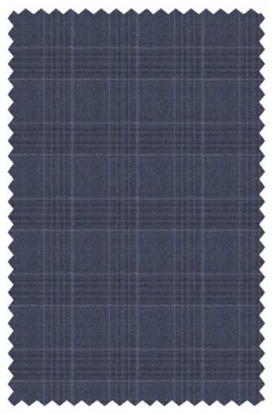 Hickey Freeman Blue Plaid Suit #F65-312135