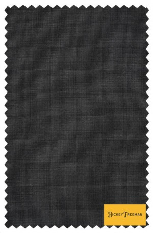Hickey Freeman Gray Tick Weave Suit #F65-312504