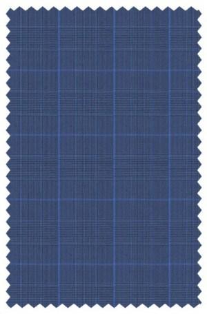 Hickey Freeman Blue Pattern Suit F71-312100