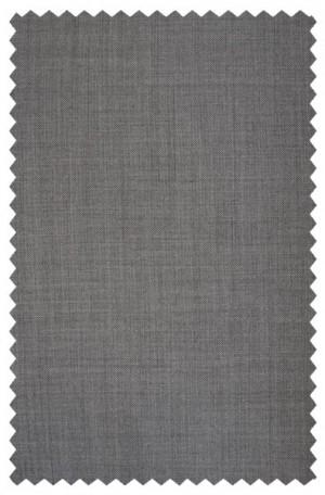 Hickey Freeman Light Gray Wool-Silk Suit #F71-312102