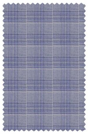 Hickey Freeman Light Blue Pattern Sportcoat #F71-512101