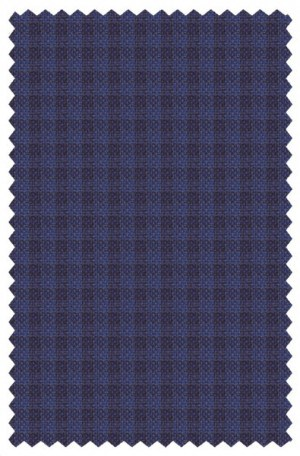 Hickey Freeman Blue Check Sportcoat #F75-512002
