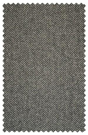 Hickey Freeman Gray Herringbone Cashmere Sportcoat #F75-525005