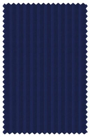 Hickey Freeman Medium Blue Stripe Suit F81-312034