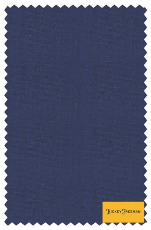 """Hickey Freeman """"New"""" Blue Solid Color Suit #F85-312006"""