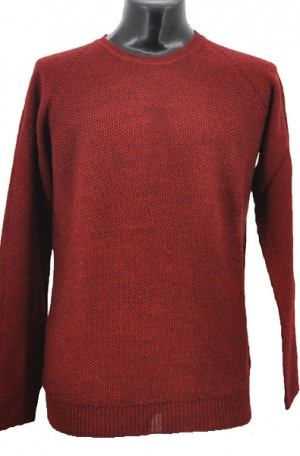 Gionfriddo Burgundy Lightweight Wool Blend Sweater #GK483-BURG