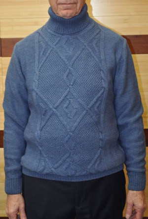 Gionfriddo Blue Sweater #506-BLUE