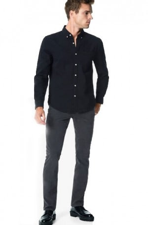 Joe's Jeans Dark Gray Brixton Straight & Narrow #GX1MCW8225-DGRY