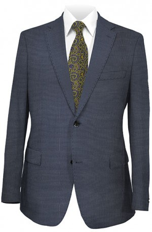 Elle Tahari Blue Fineline Tailored Fit Suit HAY0295
