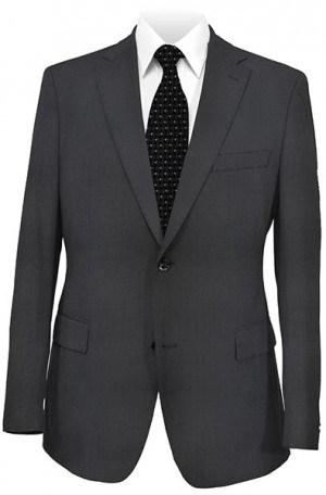 Elle Tahari Black Micro-Check Tailored Fit Suit HAY0327