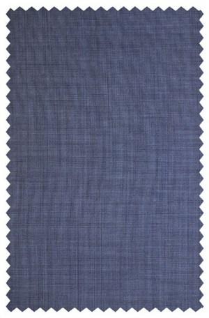 Elle Tahari Blue Micro-Check Tailored Fit Suit HDZ0012