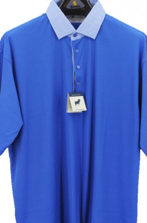 Horn Legend Royal Blue Stretch Polo #HL1096-RYL