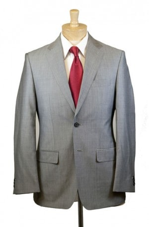 Petrocelli Light Gray Suit #HUDSON
