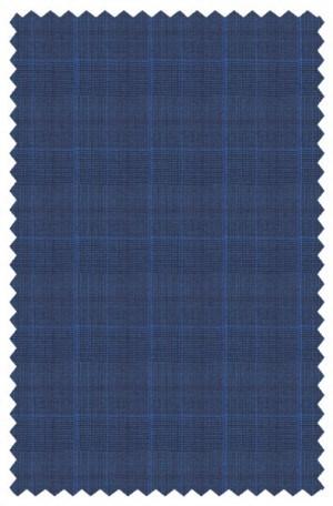 Yuste Blue Pattern Suit #IDS-170-01