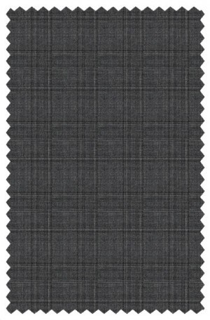 Yuste Gray Pattern Suit #IDS-182-01